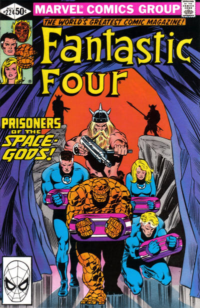 Cover for Fantastic Four (Marvel, 1961 series) #224 [Direct]