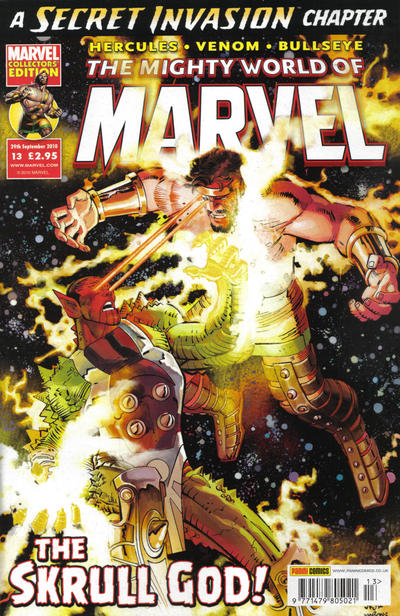 Cover for The Mighty World of Marvel (Panini UK, 2009 series) #13