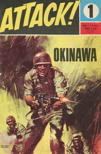 Cover Thumbnail for Attack (Semic, 1967 series) #1/1969