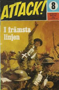 Cover Thumbnail for Attack (Semic, 1967 series) #8/1970