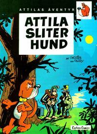 Cover Thumbnail for Attilas äventyr (Carlsen/if [SE], 1981 series) #1 - Attila sliter hund