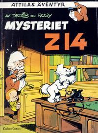 Cover Thumbnail for Attilas äventyr (Carlsen/if [SE], 1981 series) #3 - Mysteriet Z14