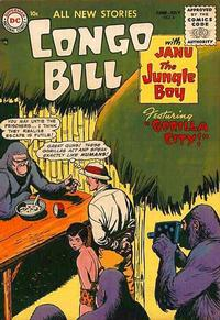 Cover Thumbnail for Congo Bill (DC, 1954 series) #6