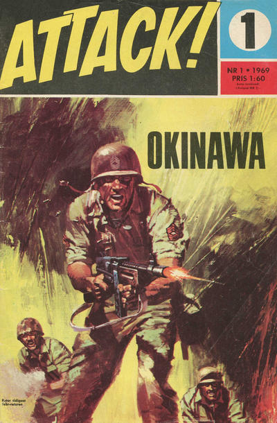 Cover for Attack (Semic, 1967 series) #1/1969