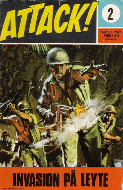 Cover for Attack (Semic, 1967 series) #2/1969