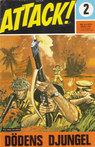 Cover for Attack (Semic, 1967 series) #2/1970