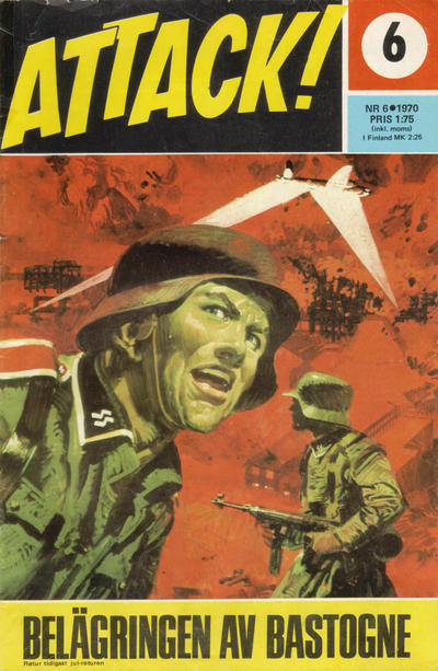 Cover for Attack (Semic, 1967 series) #6/1970