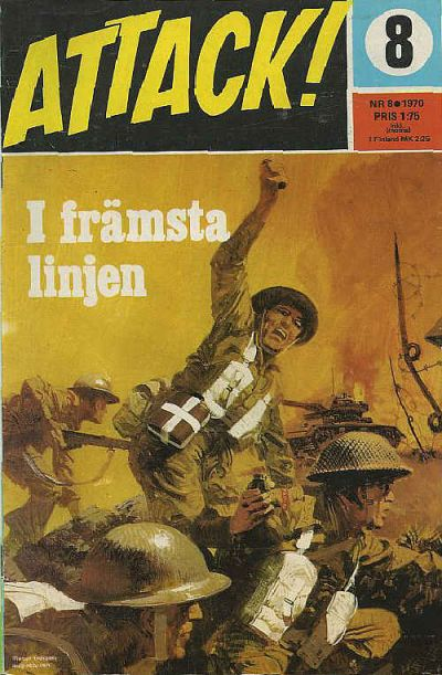 Cover for Attack (Semic, 1967 series) #8/1970
