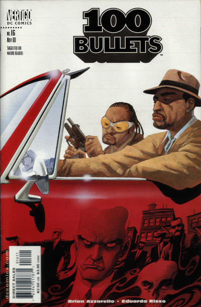 Cover for 100 Bullets (DC, 1999 series) #16
