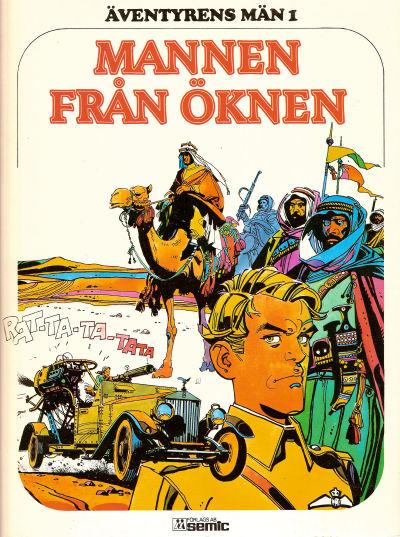 Cover for Äventyrens män (Semic, 1978 series) #1