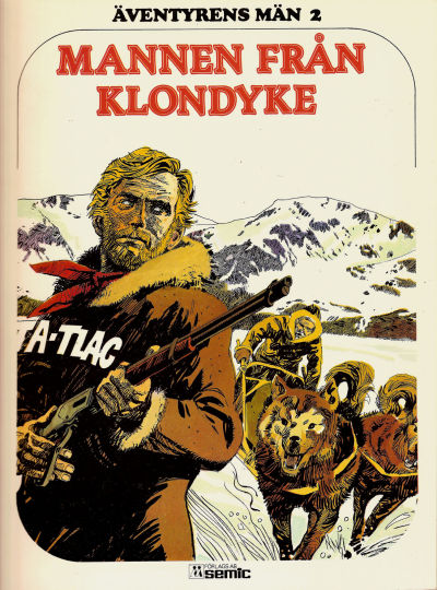 Cover for Äventyrens män (Semic, 1978 series) #2