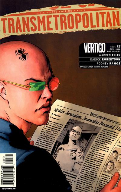Cover for Transmetropolitan (DC, 1997 series) #57