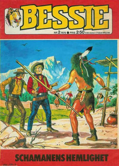 Cover for Bessie (Semic, 1971 series) #2/1975