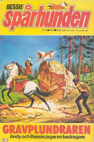Cover for Bessie (Semic, 1971 series) #3/1976