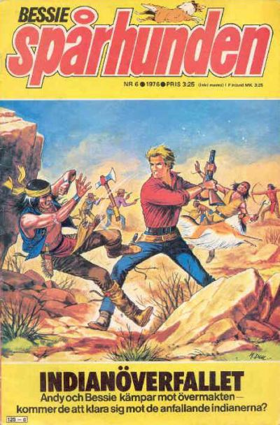 Cover for Bessie (Semic, 1971 series) #6/1976