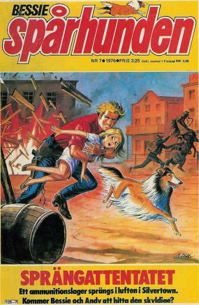 Cover for Bessie (Semic, 1971 series) #7/1976