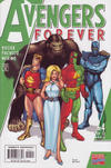 "Cover for Avengers Forever (Marvel, 1998 series) #4 [""1950s Avengers"" Variant]"
