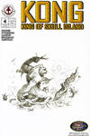 Cover for Kong: King of Skull Island (Markosia Publishing, 2007 series) #4 [Retailer Incentive Sketch Variant]