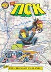 Cover for The Tick (New England Comics, 1988 series) #9 [2nd printing]