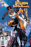 Cover for Legion of Super-Heroes (DC, 2010 series) #5 [Jim Lee / Scott Williams Cover]