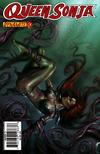 Cover for Queen Sonja (Dynamite Entertainment, 2009 series) #10 [Lucio Parrillo Cover]