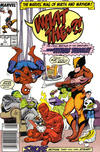 Cover for What The--?! (Marvel, 1988 series) #1 [Newsstand]