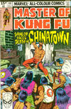 Cover Thumbnail for Master of Kung Fu (1974 series) #90 [British]