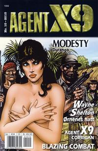 Cover Thumbnail for Agent X9 (Hjemmet / Egmont, 1998 series) #10/2010