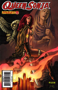 Cover Thumbnail for Queen Sonja (Dynamite Entertainment, 2009 series) #9 [Mel Rubi Cover]