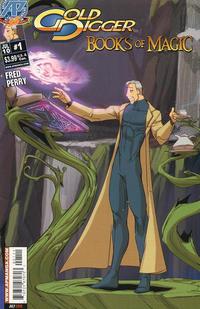 Cover Thumbnail for Gold Digger: Books of Magic (Antarctic Press, 2010 series) #1