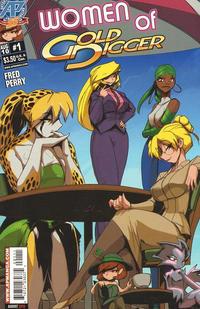 Cover Thumbnail for Women of Gold Digger (Antarctic Press, 2010 series) #1