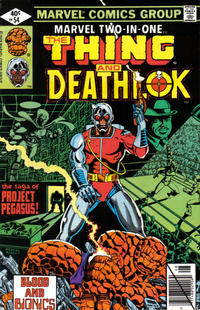 Cover Thumbnail for Marvel Two-in-One (Marvel, 1974 series) #54 [Direct]