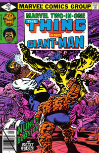 Cover Thumbnail for Marvel Two-in-One (Marvel, 1974 series) #55 [Direct]
