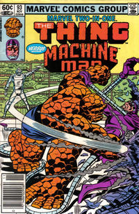 Cover Thumbnail for Marvel Two-in-One (Marvel, 1974 series) #93 [Newsstand]