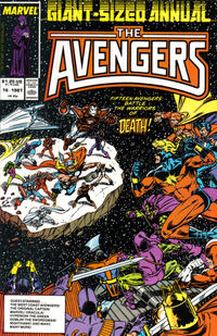Cover Thumbnail for The Avengers Annual (Marvel, 1967 series) #16 [Direct]