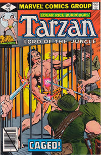 Cover Thumbnail for Tarzan (Marvel, 1977 series) #26 [direct edition]