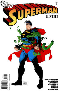 Cover for Superman (DC, 2006 series) #700