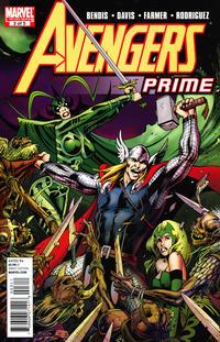 Cover Thumbnail for Avengers Prime (Marvel, 2010 series) #3 [Standard Cover]
