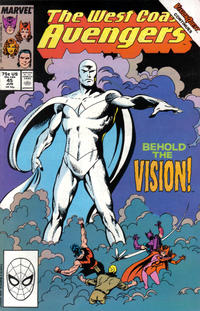 Cover Thumbnail for West Coast Avengers (Marvel, 1985 series) #45 [Direct Edition]