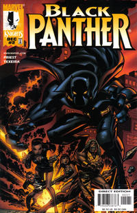 Cover Thumbnail for Black Panther (Marvel, 1998 series) #2 [Cover B]