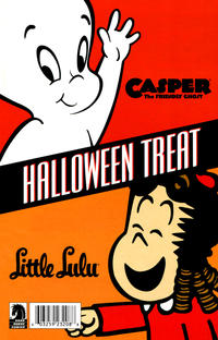 Cover Thumbnail for Casper the Friendly Ghost and Little Lulu Halloween Special 2009 (Dark Horse, 2009 series)