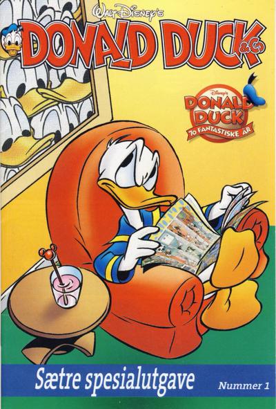 Cover for Donald Duck & Co Sætre spesialutgave (Sætre Kjeks, 2004 series) #1