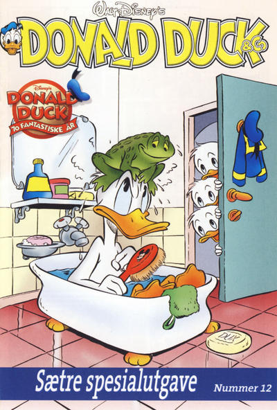 Cover for Donald Duck & Co Sætre spesialutgave (Sætre Kjeks, 2004 series) #12