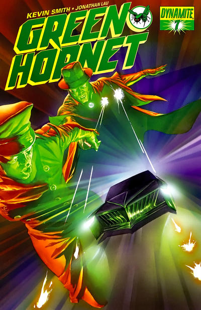Cover for Green Hornet (Dynamite Entertainment, 2010 series) #7 [John Cassaday Cover]