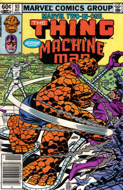 Cover for Marvel Two-in-One (Marvel, 1974 series) #93 [Canadian]