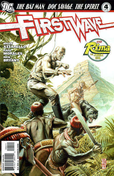 Cover for First Wave (DC, 2010 series) #4 [Geoff Darrow Variant Cover]