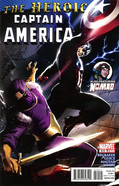 Cover for Captain America (Marvel, 2005 series) #610