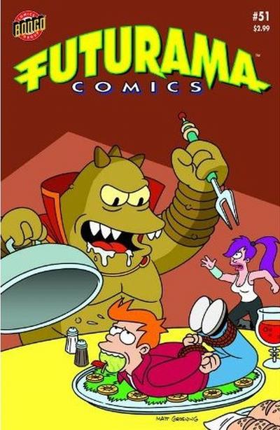 Cover for Bongo Comics Presents Futurama Comics (Bongo, 2000 series) #51