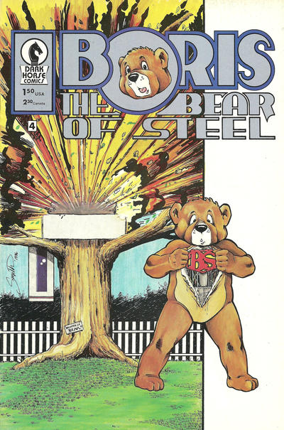 Cover for Boris the Bear (Dark Horse, 1986 series) #4 [Cover A]