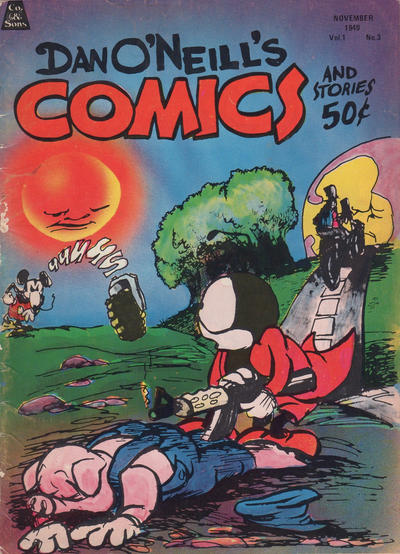 Cover for Dan O'Neill's Comics and Stories (Company & Sons, 1971 series) #3